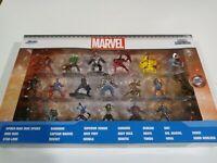 Jada Marvel 20-Piece Set  Nano Metalfigs Diecast 20 Pack Figure Collector Set