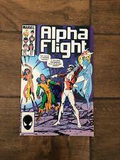 Alpha Flight Marvel Comic Book #27 Snowbird Shaman October 1985 VF