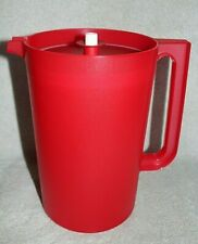 Tupperware CLASSIC PITCHER ~ Cherry Red ~ 1 Gallon ~ BRAND NEW!