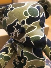 Bape Camo Bear Super Rare From 2005/6 Only 5 Sold In BWS London.