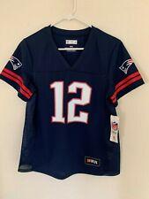 Tom Brady New England Patriots Majestic Hashmark Player Name & Number T-Shirt