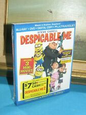 Despicable Me (Blu-ray/DVD, 2013, 2-Disc Set, Includes Digital Copy UltraViolet)