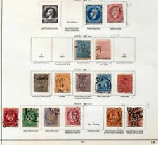 NORWAY 1850s/1920s Used Collection on Pages(Apprx 60+Items)ZZ79