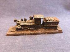 "Vintage Cast Iron Train Engine ""The General"" Paperweight Desk Ornament Miniature"