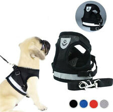 Dog Harness Universal Chest Strap and Leash Set,Soft Mesh Padded PetVest Harness