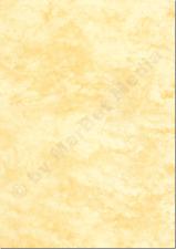 Marmorpapier A4 170g / m² 250 Blatt gelb