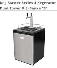 "Keg Master Series 4 Kegerator Dual Tower Kit (Sanke ""S"" Couplers)"