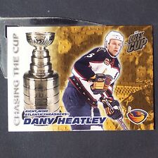 DANY HEATLEY  2003/04 Quest  Chasing the Cup #1  Atlanta Thrashers