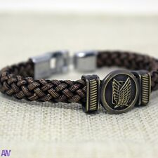 Attack on Titan Anime Bracelet Wristband UK Stock