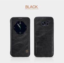 Fundas con tapa Nillkin color principal negro para teléfonos móviles y PDAs