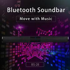 TV Home Theater Soundbar Bluetooth Sound Bar Speaker System Wireless Surround
