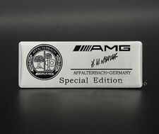Car Modified Sport Emblem Badge Sticker Logo AMG Edition Fit for Mercedes Benz