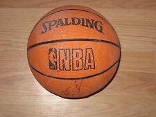 Spalding Hof Signed Lil Basketball/Dennis Johnson/Auerbach/Jerry West/Cunningham