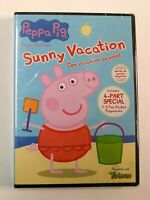 """""""BRAND NEW"""" Peppa Pig: Sunny Vacation DVD SEALED"""