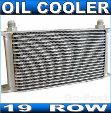 "OIL COOLER - 19 ROW ENGINE OIL COOLER - 3/4""UNF16 AN-8 - TRANSMISSION OIL COOLER"