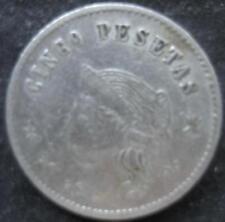 Spain gambling token 5 Peseta cc 1920's VF cn 396