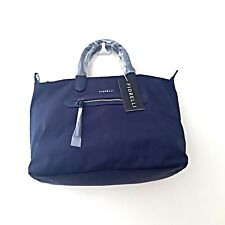 Fiorelli Ladies Morgan Medium nylon Navy Zip Top Grab Handbag Tote Shoulder Bag