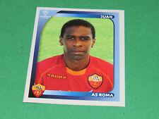 454 JUAN AS ROMA UEFA PANINI FOOTBALL CHAMPIONS LEAGUE 2008 2009