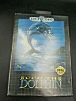 Ecco the Dolphin (Sega Genesis, 1992) Complete & Tested Free Shipping