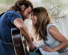 A STAR IS BORN Bradley Cooper & Lady Gaga SIGNED REPRINT 8X10 PHOTO POSTER MOVIE