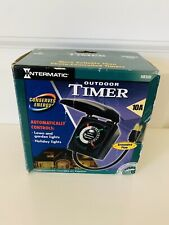 Intermatic HB35R Outdoor timer with Waterproof Cover -Holiday Lights & Landscape
