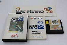 SEGA MEGADRIVE FIFA 95 SOCCER COMPLETO PAL EUR MEGA DRIVE