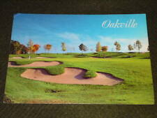 UNUSED GOLF POSTCARD - Oakville Canada