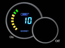 "Prosport-Digital ELECTRIC BOOST GAUGE 2 1/16"" 52mm NEW with sender"