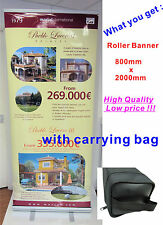 Cheapest Roller Banner Pop Up/ Roll Up /Pull up Exhibition Display Stand