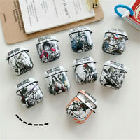 Case One Piece Anime Airpods Shockproof Earphone Cover For AirPods 1 2 3 Pro