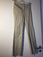 Elegante Damen Stoffhose (Chino) H&M beige Grösse 34 ungetragen