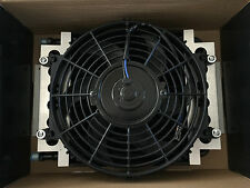 NEW TRANSMISSION OIL COOLER & FAN KIT DUAL PASS UNIVERSAL FIT TH350 TH400 700r4