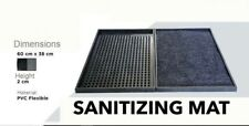 2 Sanitizing Mats(1-cleaning rubber/1-drying carpet)Disinfecting Office/Home ❤
