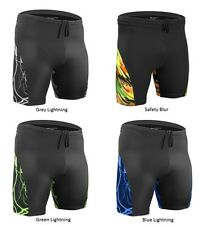 Mens High Performance Exercise Fitness Workout Short Running Jogging Shorts Prin