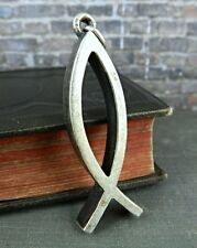 James Avery Sterling Silver Ichthus Jesus Fish Pendant