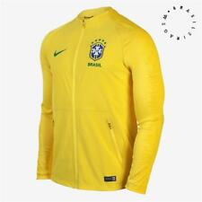 Nike Brazil Anthem Training Jacket 2018 19 Mens Jaqueta Brasil CBF Strike  Futbol 81f0517a59466