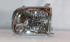 Headlight Left TYC 20-6658-00