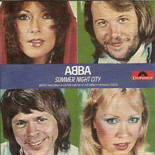☆ CD Single ABBA Summer night city 2-Track cards leeve ☆