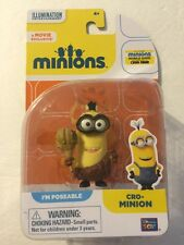 "Movie Exclusive: Minions ""Cro-MINION"" Poseable 2.25"" Figure [BRAND NEW SEALED]"
