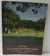 1956 U.S. OPEN GOLF PROGRAM HELD AT OAK HILL-EXCERPT FROM WALTER HAGEN STORY