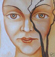 "Painting Original Oil 18""х17"" Russian Art by Pronkin CONTEMPORARY ART surrealism"