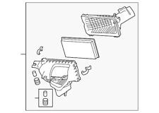 Genuine Infiniti Air Cleaner Assembly 16500-4GA0B