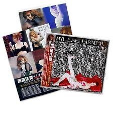Mylène Farmer Les Mots The Best of Taiwan 2 CD OBI Mini Poster Mylene 2019 NEW