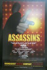 "Assassins Theater Broadway Window Card Poster 14"" x 22"""