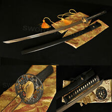 "41""Japanese Samurai Sword Katana Full Tang 1060 Carbon Steel Blade Battle Ready"