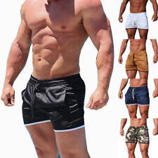 Men's Fitness Sports Shorts Football Gym Workout Training Running Jogging Pants