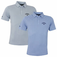 Callaway Mens 2019 New Box Jacquard Tour Opti-Dri Golf Polo Shirt 45% OFF RRP