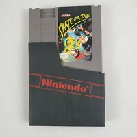 Skate or Die (Nintendo Entertainment System NES) Original Game & Sleeve Tested
