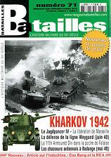 BATAILLES N° 71 - KHARKOV 1942