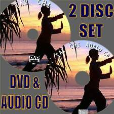 TAI CHI EASY STEP BY STEP BEGINNERS GUIDE DVD &CD EXCERCISE HEALTH MIND AND BODY